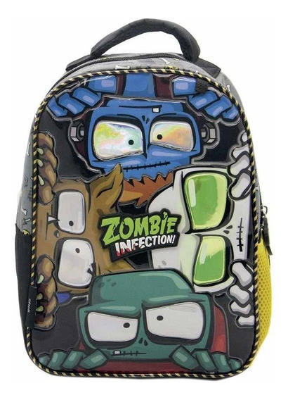 Mochila De Espalda Zombie Infection Monstruos 12