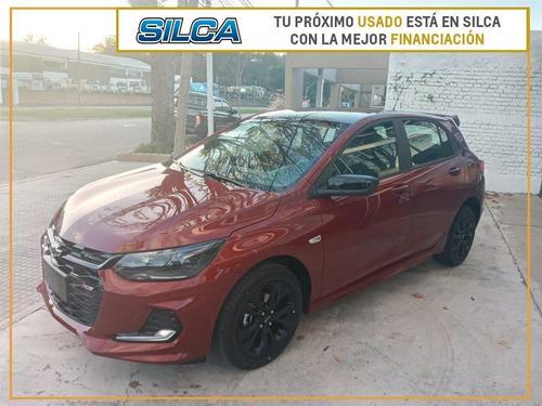 Chevrolet Onix Rs 2021 2021 Rojo 0km