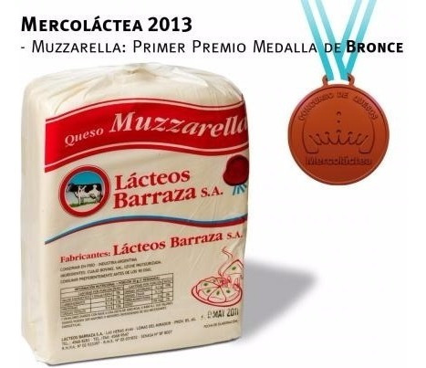 Muzzarela Barraza Por Mayor.