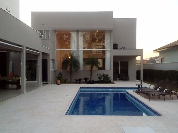 Casa Em Condomínio, Terras De São Carlos, Jundiaí, Caxambu - Ca08212 - 4818124