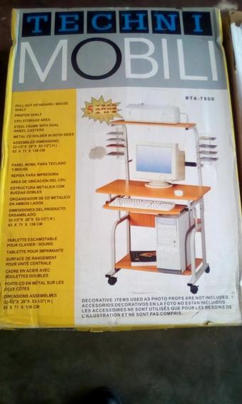 Mesa Para Computadora Con Puesto De Cd E Impresora