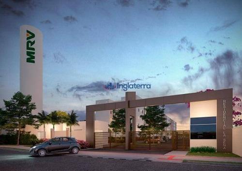 Apartamento À Venda, 38 M² Por R$ 148.600,00 - Vila Salomé - Cambé/pr - Ap1209