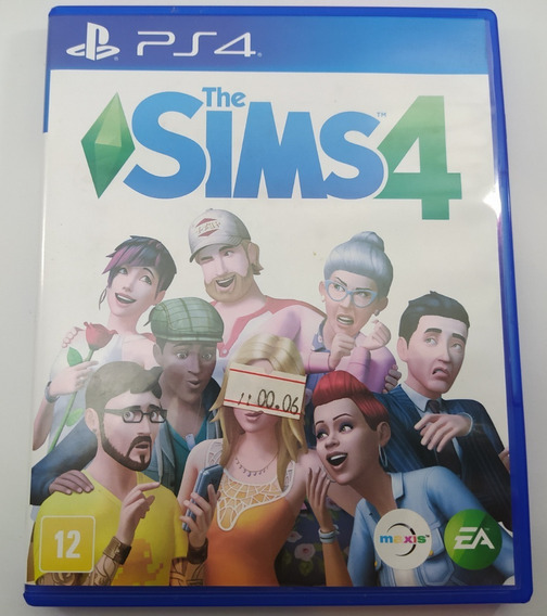 The Sims 4 Ps4 Usado Mídia Física