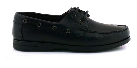 Náutico Hombre Casual Cuero Zapato Briganti - Hcna00413
