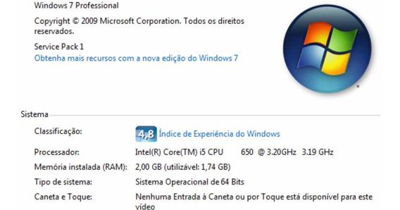 Computador I5 Vpro, 4gb De Ram, Hd 500 Gb ((gamer))