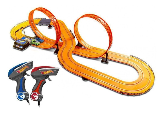 Autorama Slot Car Pista Hot Wheels 6,32 Metros Multikids