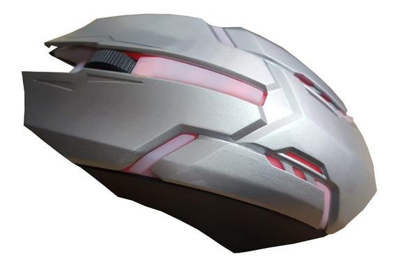 Mouse Gamer 3200 Dpi Com Luz Carrinho Transforme Promoção