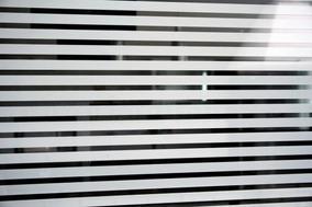 Adesivo Jateado Listrado Persiana Box Blindex Vidro 2mx1,50m