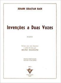 Invenções A Duas Vozes (português) Capa Comum