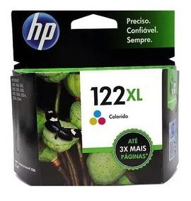 2 Cartuchos Hp 122xl Color Original Lacrado Na Caixa