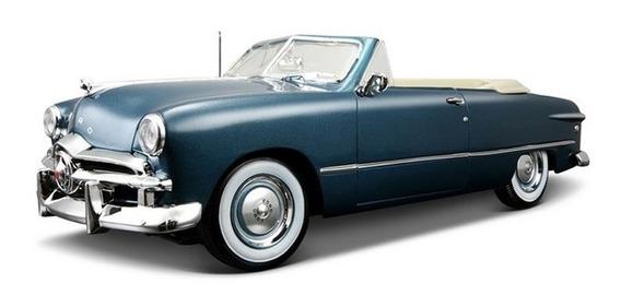Ford 1949 Cabriolet Auto Coleccion Abre Puertas Maisto 1:18