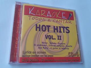 Cd Karaoke Hot Hits Enrique Iglesias Mana Shakira Thalia New