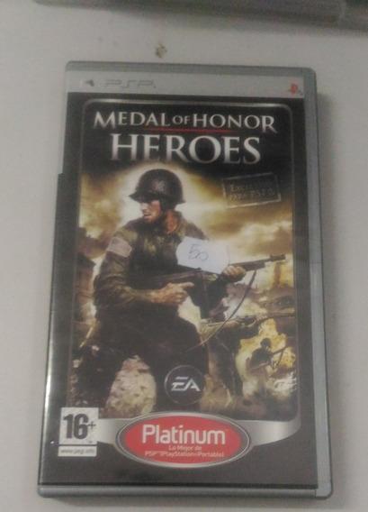 Jogo - Medal Of Honor - Psp