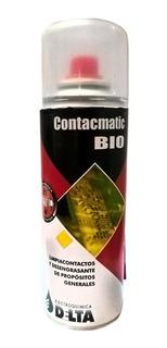 Limpiacontactos Contacmatic Bio 230cc Delta Aerosol 145g