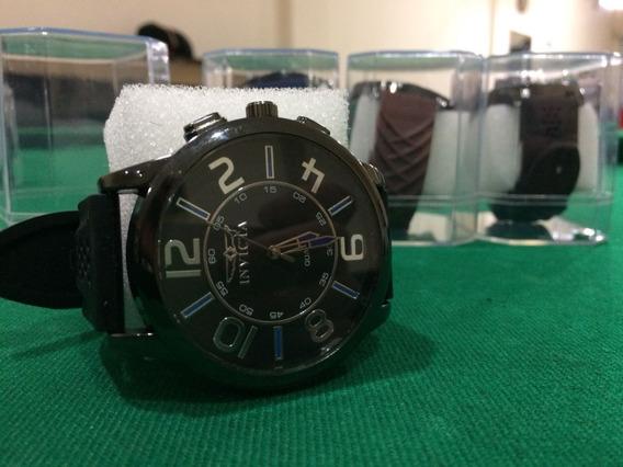 Relógio De Pulso Pulseira Silicone Promoção