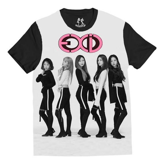Blusa Exid Full Face K-pop