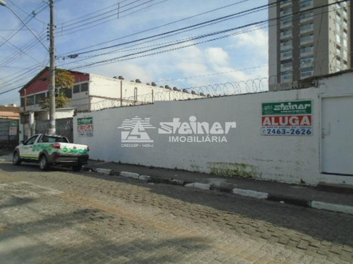 Imagem 1 de 8 de Aluguel Terreno Até 1.000 M2 Centro Guarulhos R$ 6.000,00 - 35581a