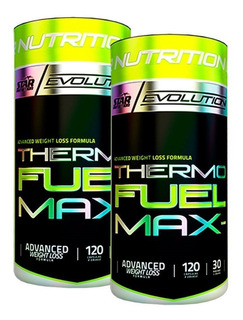 Thermo Fuel 120 Cap X 2 Un. Star Nutrition Quemador De Grasa