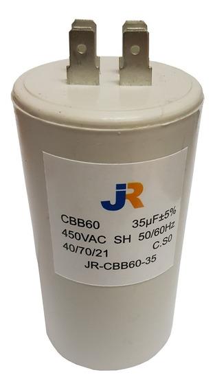 Capacitor De Marcha 35uf 450v 50/60hz Jr