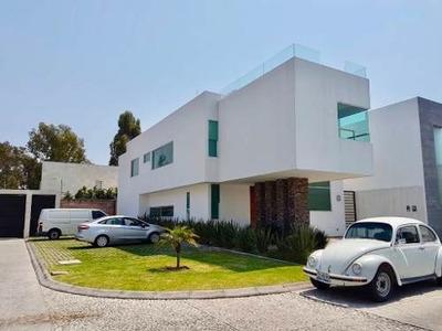 Casa Nueva En Renta Morillotla, Fraccionamiento Palma Sola, San Andrés Cholula, Cerca Periférico, La