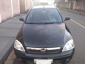 Corsa Sedan Premium 1.4 Preto - Ano 2008 - Completo