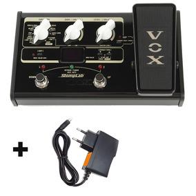 Vox Stomplab Pedaleira Efeitos Guitarra 2g C/ Fonte Hayonic