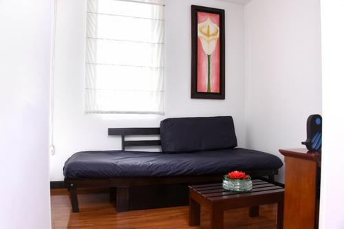 Imagen 1 de 13 de Apartamento Amoblado La Mejor Ubicación Modelia. Días, Meses