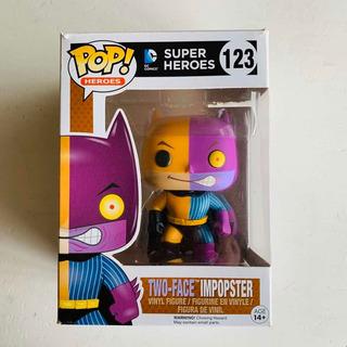 Two-face Impopster Funko Pop 123 Dc Súper Héroes Batman