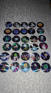 Colección Completa Taps Tazos Dragon Ball Gt Mexico