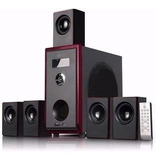 Home Theatre 5.1 C/ Radio Fm Bluetooth Control Remoto Cuotas