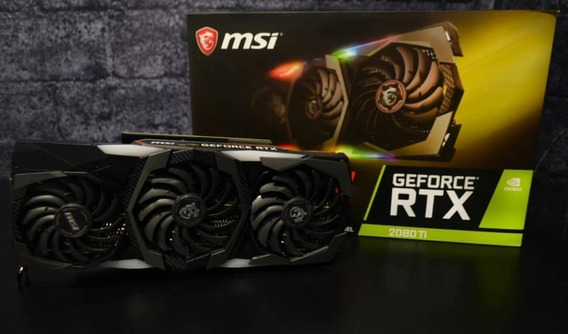 Msi Gaming Geforce Rtx 2080 Ti 11gb Gdrr6 352-bit Hdmi Dp ®