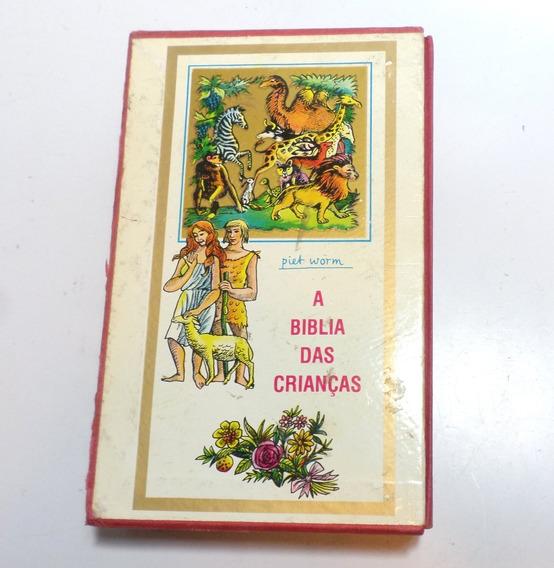 Livro Biblia Das Crianças Piet Worm 3 Tomos 1980 Espanha