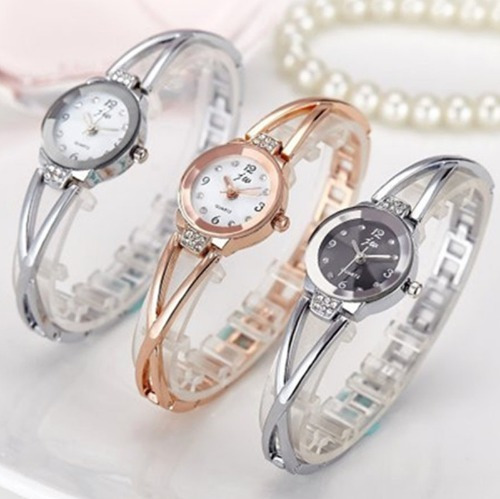Relógio De Pulso Feminino De Luxo Promoção