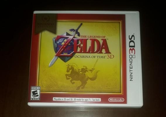 The Legend Of Zelda Ocarina Of Time 3d - Jogo Para 3ds
