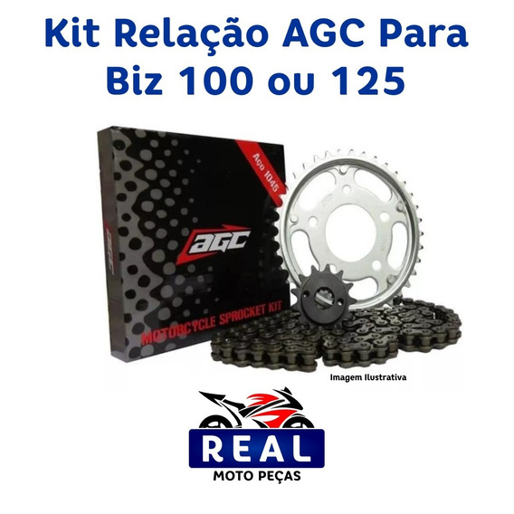 Kit Relação Agc Biz 100 / 125