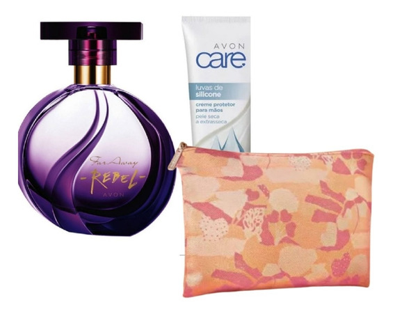 Perfume Avon Far Away Rebel + Brinde Presente
