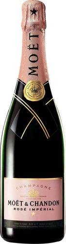 Champagne Moet&chandon Rose Imperial De 750ml.