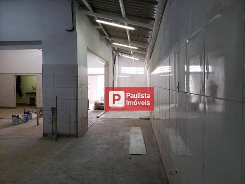 Galpão Para Alugar, 220 M² Por R$ 7.000/mês - Chácara Santo Antônio (zona Sul) - São Paulo/sp - Ga0529