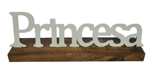 Base Palavra Princesa Pinus Luxo