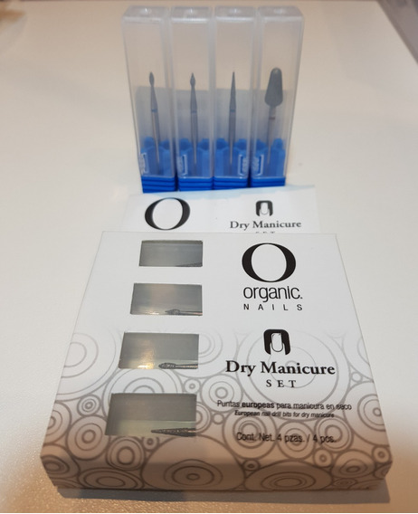 Dry Manicure By Organic Nails Puntas Europeas