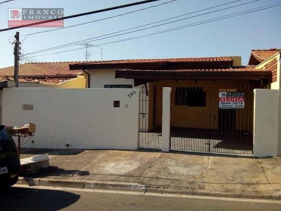 Casa Para Locação, Jardim São Marcos, Valinhos. - Ca0036