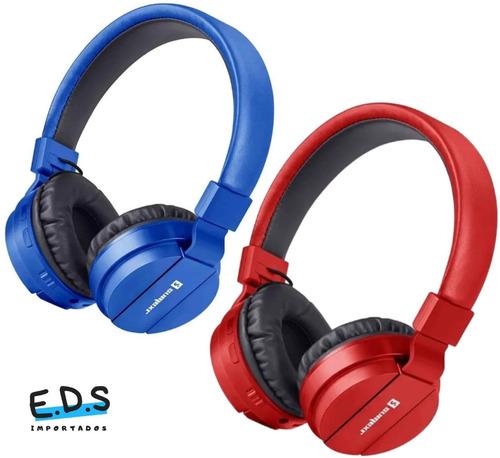 Headset Fone De Ouvido Estéreo Sem Fio Com Bluetooth Sly-10