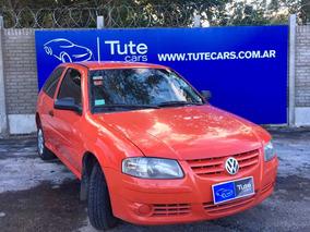 Volkswagen Gol 1.4 Power 3 Puertas Rojo 2012 Financiado