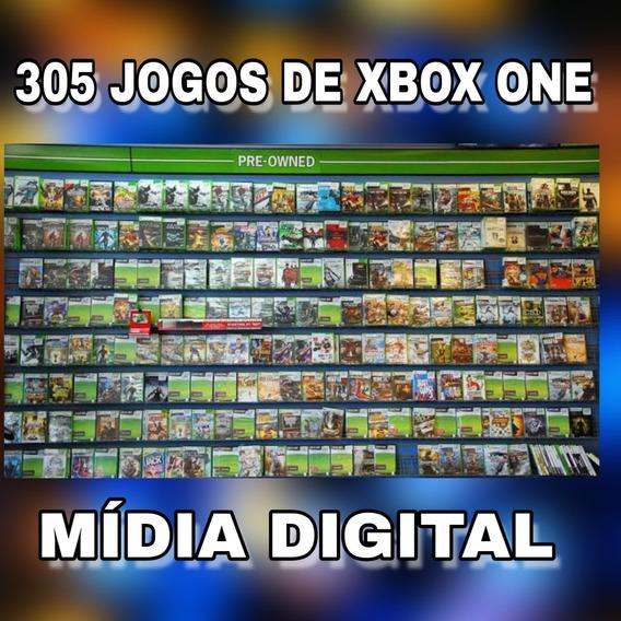 Combo Com 305 Jogos De Xbox One Digital Original
