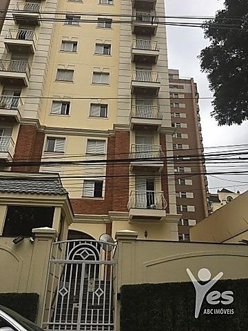 Imagem 1 de 14 de Ref.: 2187 - Apartamento, 2 Quarto Sendo 01 Suíte, 01 Vaga, Bairro Jardim, Santo André - 2187