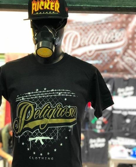 Playera Peligroso Clothing Logo
