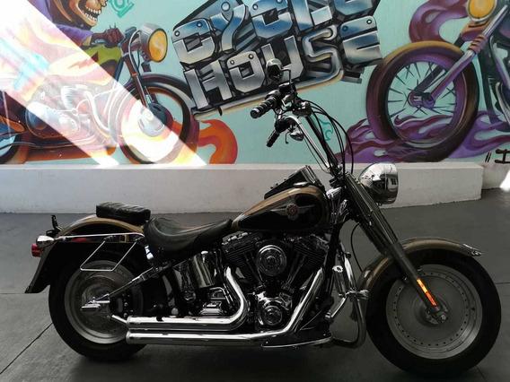Harley Davidson Fatboy 1450 04 Titulo Limpio Checala!!!!