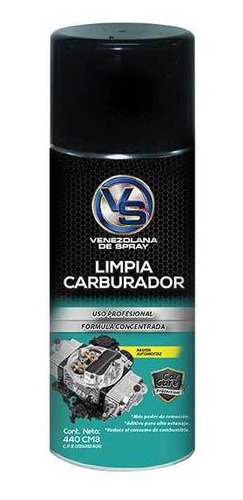 Spray Grande Limpia Carburador Vs 440 Cm3