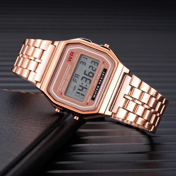 Relógio Vintage Rosé