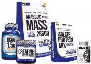Hipercalórico Mass + Isolate Protein + Bcaa + Creatina + Zma